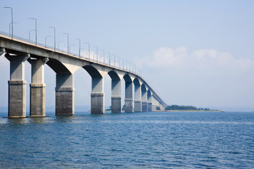 Sweden, Bridge over sea