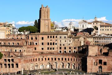 Trajan's Forum Markets in Rome.