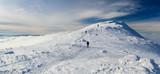 Babia Gora - Diablak. Mountain in Poland