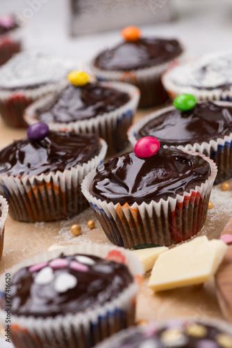 Chocolate muffins © tamara83