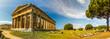 Panorama - Temple Of Paestum - Italy