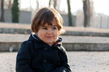 Smiling boy (2-3)