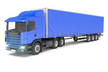 Truck - Blue - Shot 05