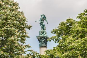 Jubilee Column at Castle Square in Stuttgart, Germany