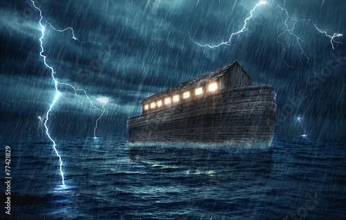 Leinwanddruck Bild Noahs ark