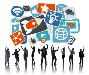Media Social Media Social Network Technology Online Concept
