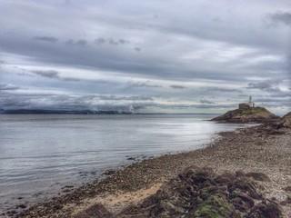 UK, Wales, Mumbles lighthouse