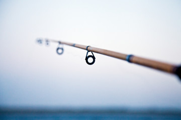 Italy, Puglia, TA, Ginosa, Marina di Ginosa, Italian Fishing Rod