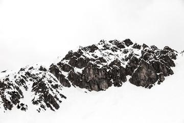 Austria, Tyrol, Winter Alps