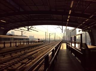 Airport Rail link in bangkok