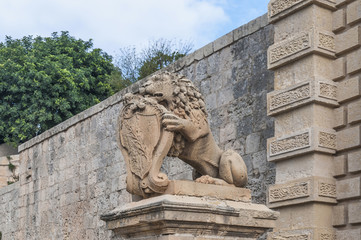 Main Gate in Mdina, Malta