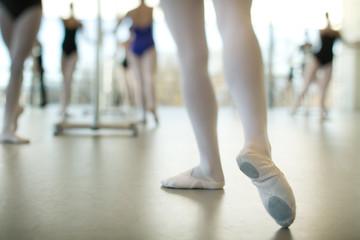 USA, Colorado, Mesa County, Grand Junction, Ballet class