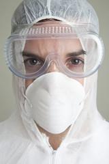 Head Shot Of Scientist
