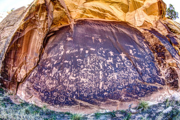 USA, Utah, Newspaper rock
