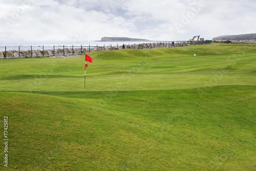 Zdjęcia na płótnie, fototapety, obrazy : Galway Golf Club in Ireland.