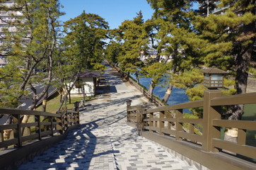 百代橋と草加松原