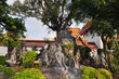 Thai hermit exercise statues at Wat Pho , Bangkok,Thailand