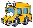 Vector illustration of School bus - 77430426