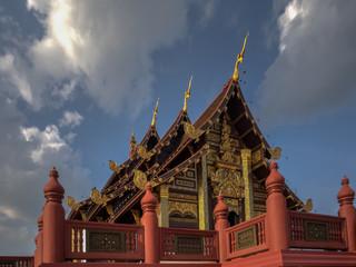 Pavilion at Royal Flora Ratchaphruek, Chiang Mai, Thailand