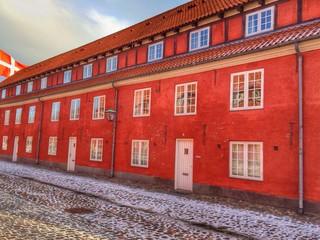 Denmark, Copenhagen, View of Kastellet