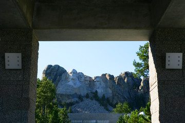 Usa, South Dakota, Mount Rushmore National Memorial