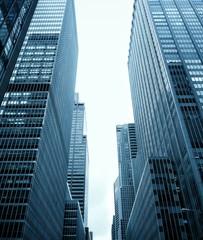 USA, New York State, New York City, Skyscrapers of Midtown Manhattan