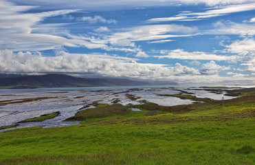 Iceland, Westfjord, Scenic view of landscape