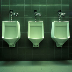 Three Urinals