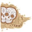 Engraving gemini - 77436867