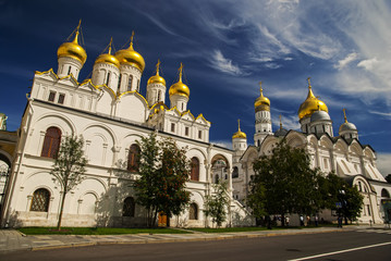 The Cathedral of the Annunciation in Kremlin