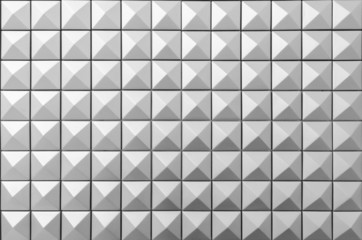 Diamond Shape Stud Pattern Background - Black and White