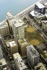 Chicago, Illinois, United States of America, Green Space Downtown