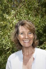 Mature Woman, Smiling, Portrait