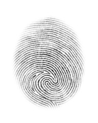 Fingerprint Isolated Illustration