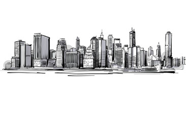 Grey Skyline