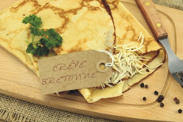 crêpe bretonne