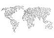 Welt Verbindung