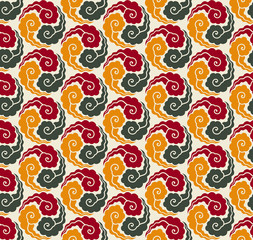 Various Colors taegeuk plaid pattern.