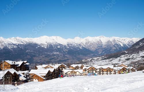 Papiers peints Alpes Station de ski des Orres (Alpes françaises)