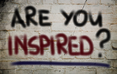 Are You Inspired Concept