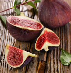 Fresh figs. Selective focus
