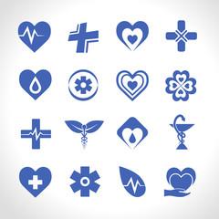Medical Logo Blue