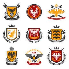 Eagle Emblem Set