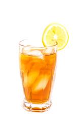 Iced Tea with Lemon Slice