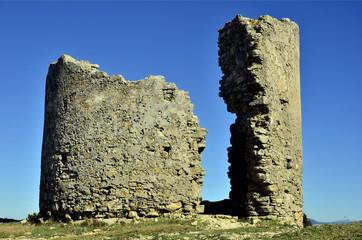 Ruinas del Castillo de Medina-sidonia.Cádiz.España