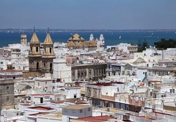 Cadiz, view from torre Tavira