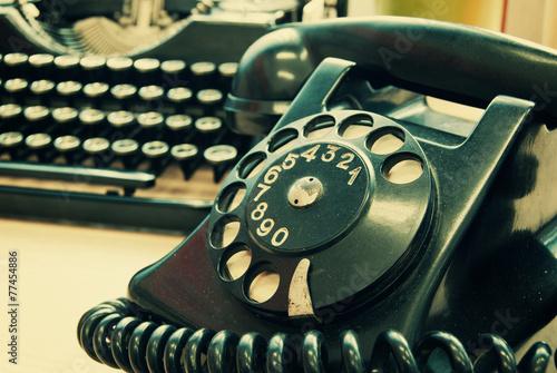 Foto op Plexiglas Retro Old office