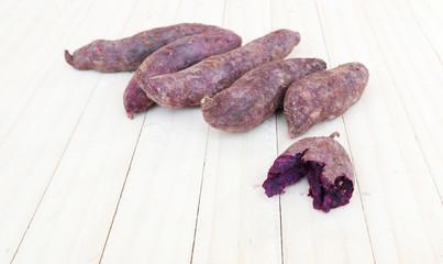 Purple Sweet Potato.