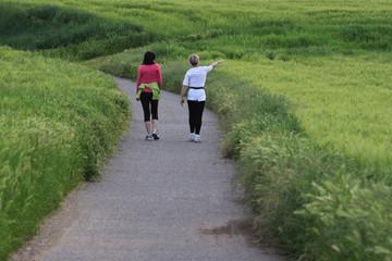 Due donne a passeggio