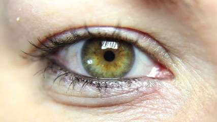Close up shot of a woman